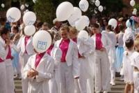 1600 калушан одночасно танцюють віденський вальс