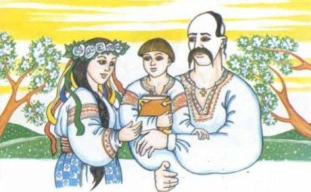 картинки українська сім я