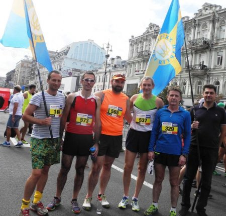 Українська партія взяла участь у Осінньому марафоні - 2016!
